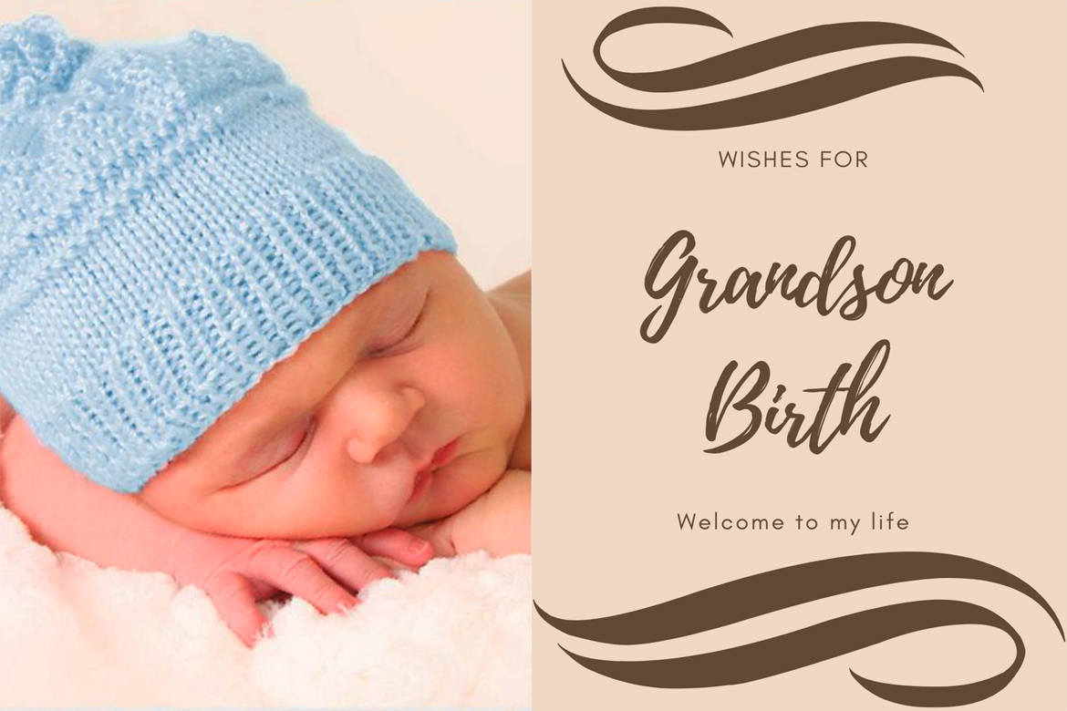Wishes for Grandson Birth