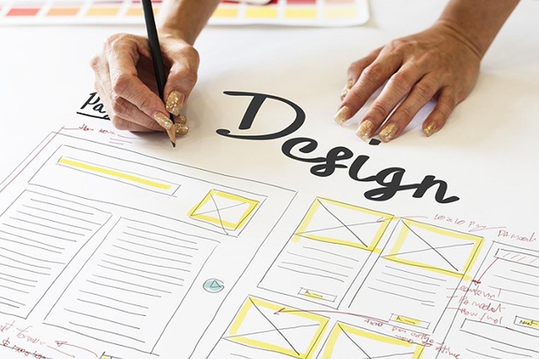 design a web page